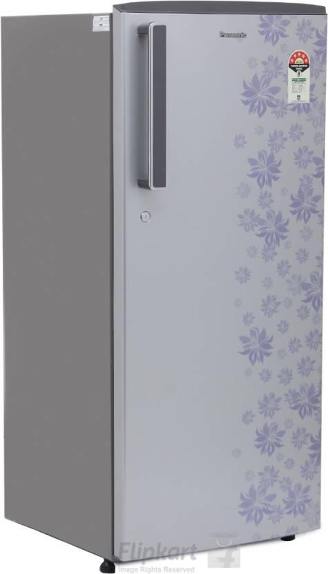 59ebc745ae9 Panasonic 215 L Direct Cool Single Door 3 Star Refrigerator (Silver Floral
