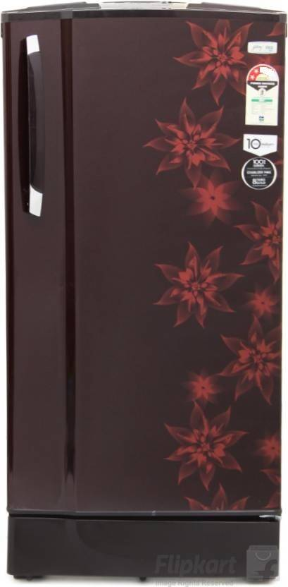 Godrej 185 L Direct Cool Single Door Refrigerator at Just Rs 12,790 + Upto Rs 2000 Off on Exchange By Flipkart | Godrej 185 L Direct Cool Single Door Refrigerator  (RD EdgeSX 185 PM 2.2 Muziplay, Berry Bloom, 2017) @ Rs.12,790