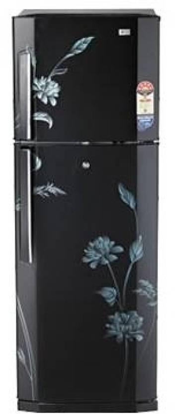 Lg Gl 255vf5 Double Door Top Freezer 240 Litres Refrigerator