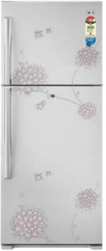 LG GL-368YEQ4 BW Double Door - Top Freezer 350 Litres Refrigerator