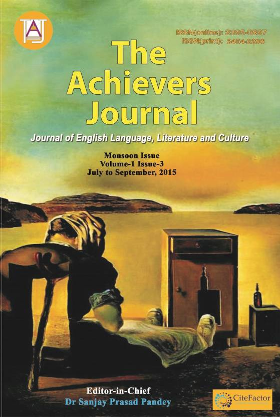 The Achievers Journal Vol 1 Issue 3