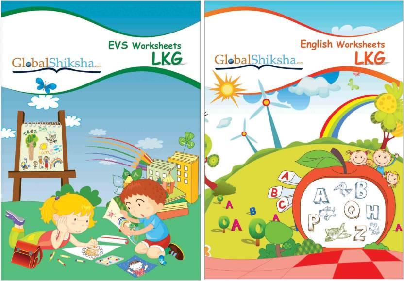 Worksheets For LKG - EVS & English Price in India - Buy Worksheets ...