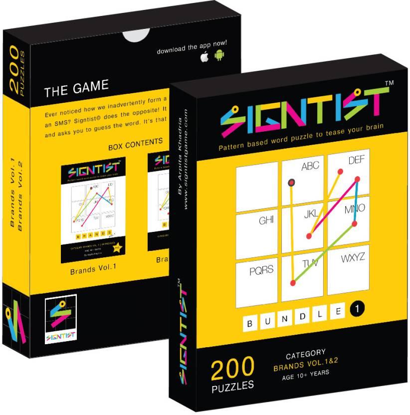 Signtist - Bundle 1 : 200 Puzzles (Volume 1 & 2)