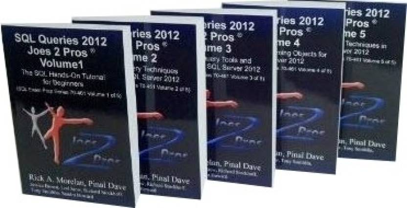 SQL Queries 2012 Joes 2 Pros Combo Kit (Set of 5 Volumes)