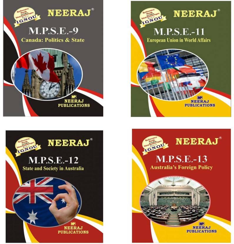 Ignou Ma 2nd Year Help Book Combo Mpse 9 Mpse 11 Mpse 12