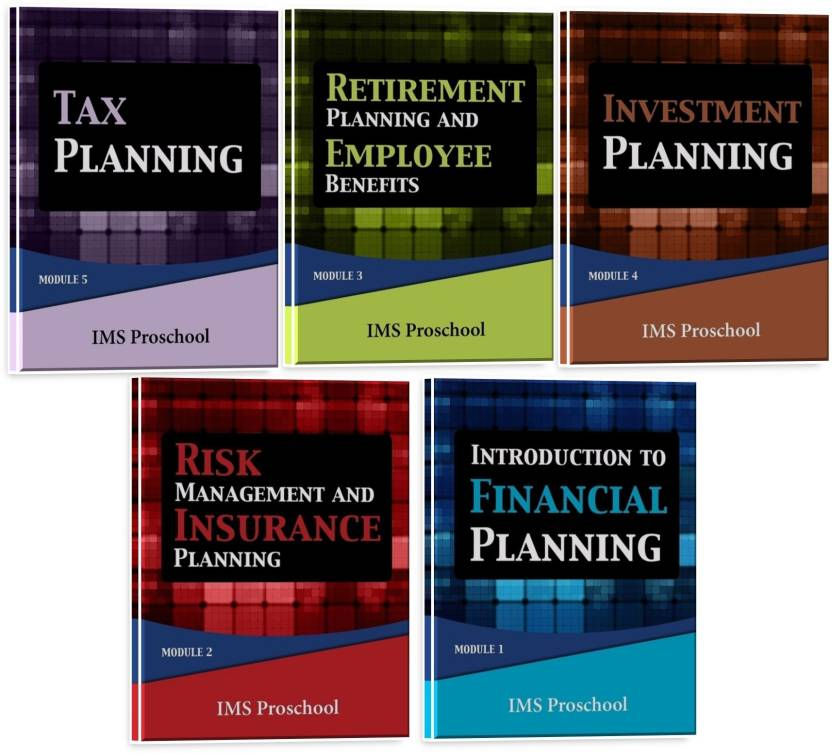 Certified Financial Planning Certification Modules Set Of 5 Books