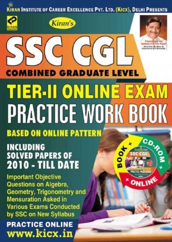 Ssc Cgl Tier – Ii Online Exam Practice Work Book
