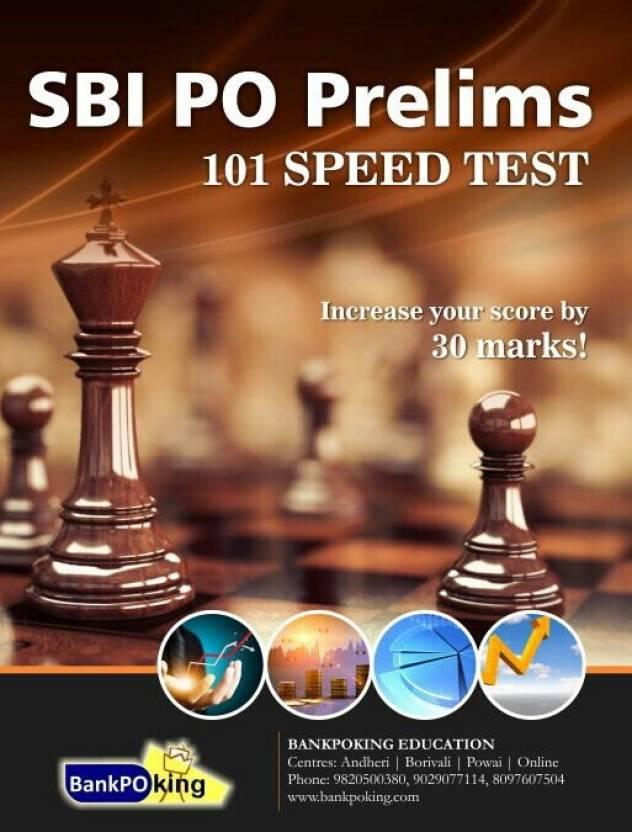 SBI PO Prelims 101 Speed Test