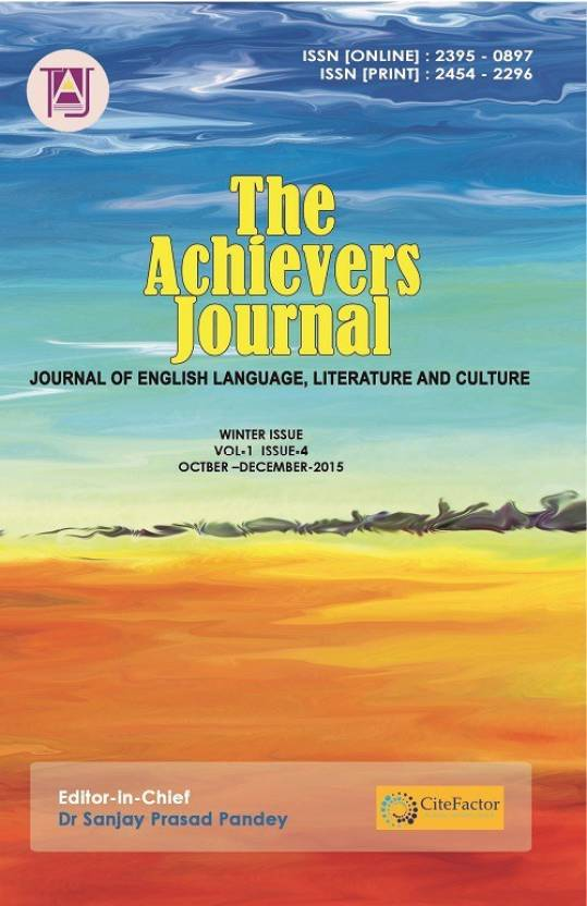 The Achievers Journal Vol-1 Issue- 4