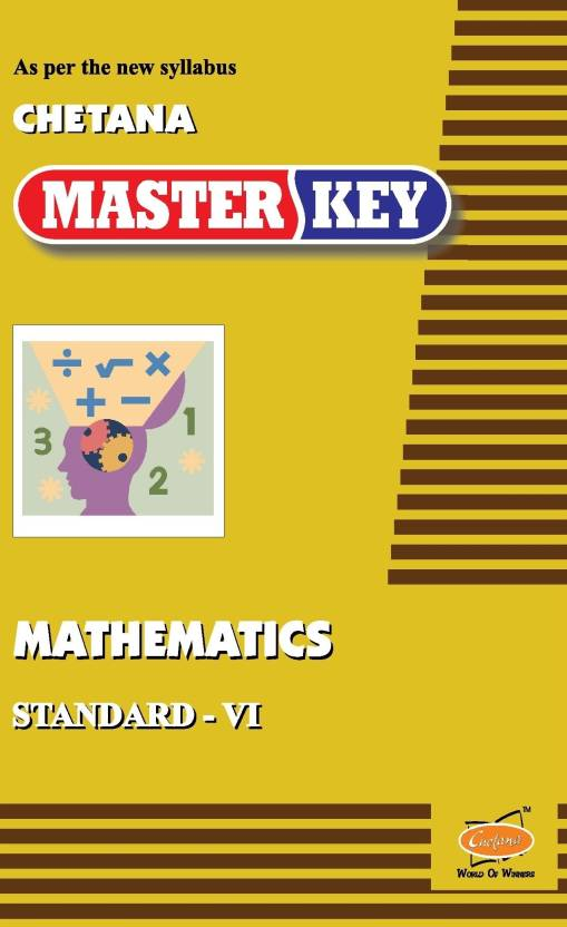 Mathematics: Master Key For Standard - 6: Buy Mathematics: Master