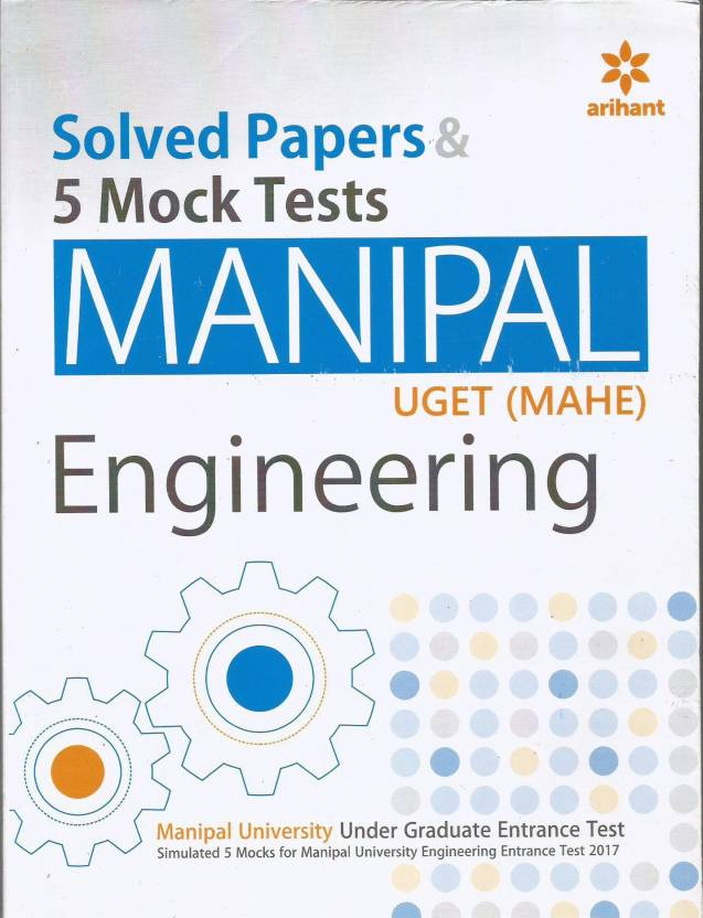 Solved Papers And 5 Mock Tests For Manipal UGET (MAHE) Engineering 2017  Paperback
