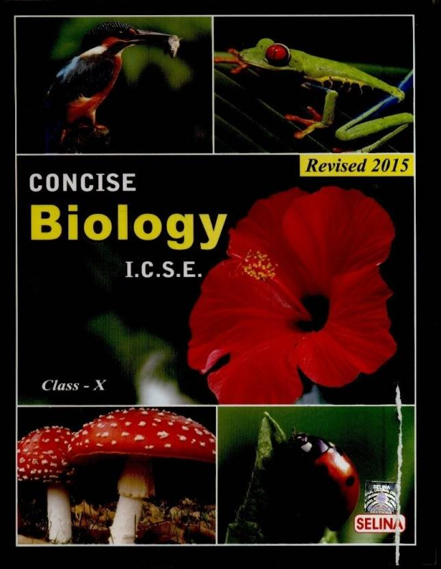 concise biology i c s e 2015 part 2 for class 10 buy concise