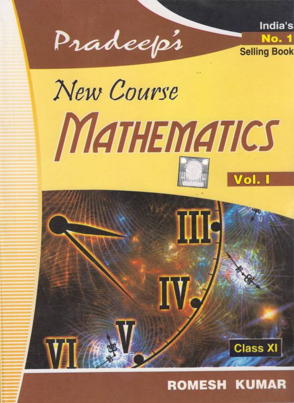 Pradeep's New Course Mathematics With Value Based Questions Class-XI (Set  Of 2 Vols)