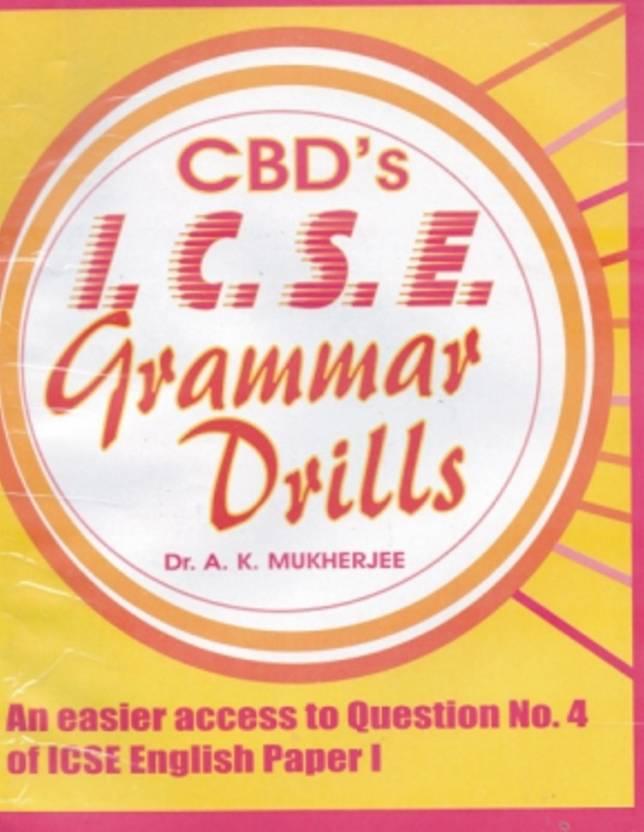 ICSE - Grammar Drills Price in India - Buy ICSE - Grammar Drills ...