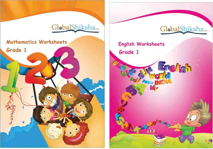 Worksheets For Class 1 Maths English Buy Worksheets For Class 1