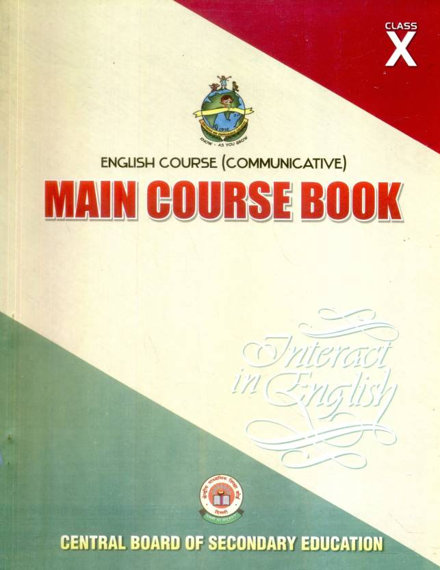 English Course Communicative: Main Course Book Interact In English (Class - 10)