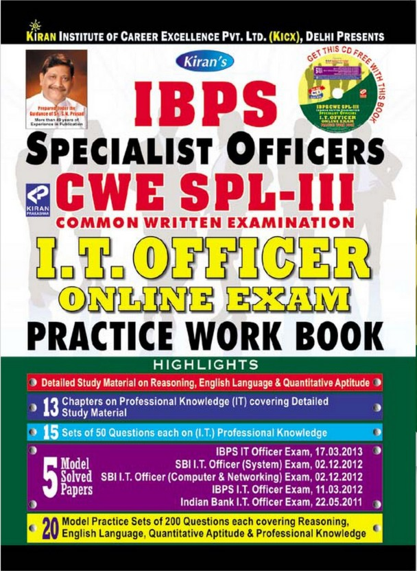 Ibps Specialist Officer Book