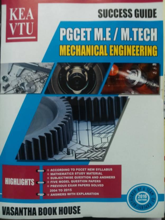 Kea Vtu Pgcet Me Mtech Mechanical Engineering