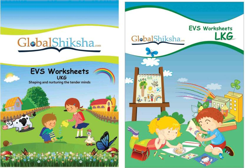 Worksheets For LKG & UKG - Environmental Science (EVS): Buy
