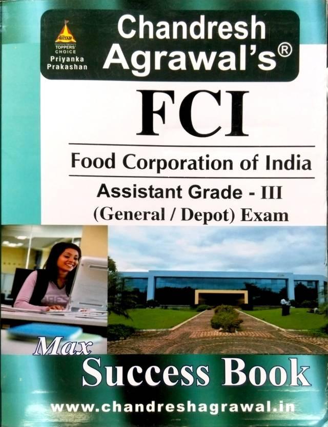 FCI Food Corporation Of India Assistant Grade III Exam (General