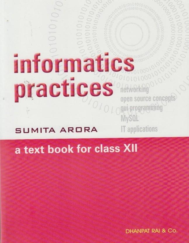 Download Sumita Arora Informatics Practices Class 11 Pdf