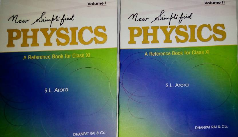 New simplified physics a reference book for class xi set of 2 new simplified physics a reference book for class xi set of 2 parts on offer fandeluxe Gallery