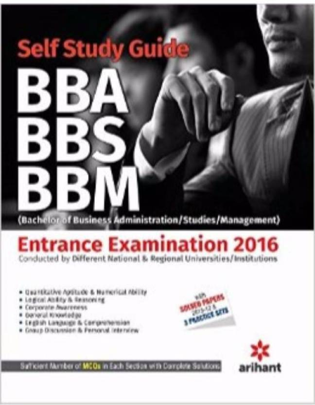 A Complete Self Study Guide BBA/BBS/BBM (Bachelor Of