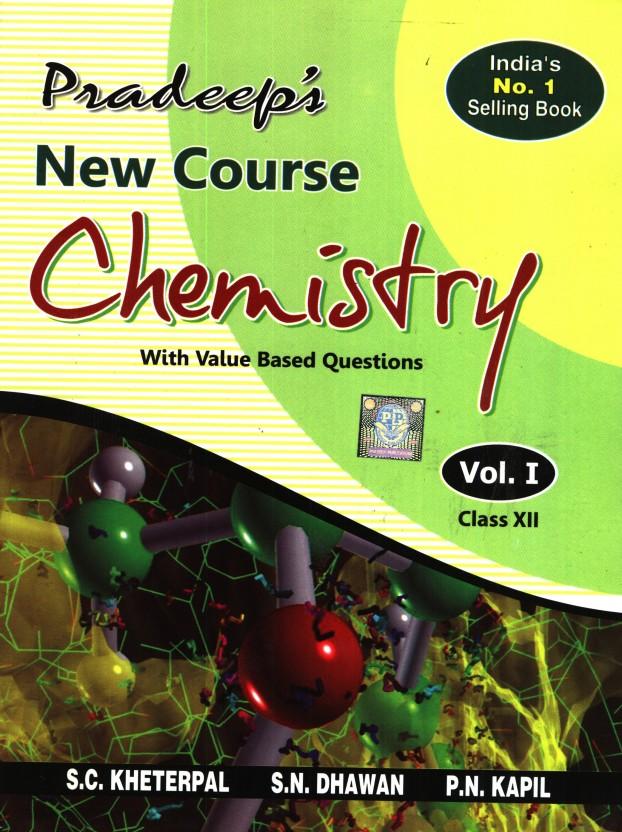 pradeep s new course chemistry class xii set of 2 vols price in rh flipkart com Chemistry Data Sheet Chemistry Cheat Sheet