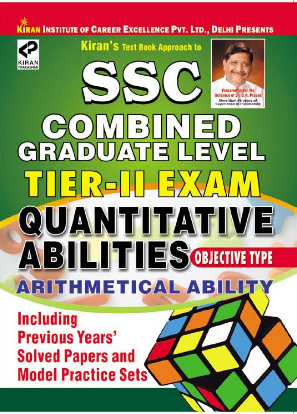 Ssc Cgl Exam Preparation Book