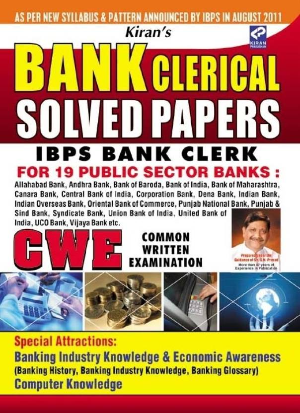 IBPS Bank Clerk Solved Papers For CWE