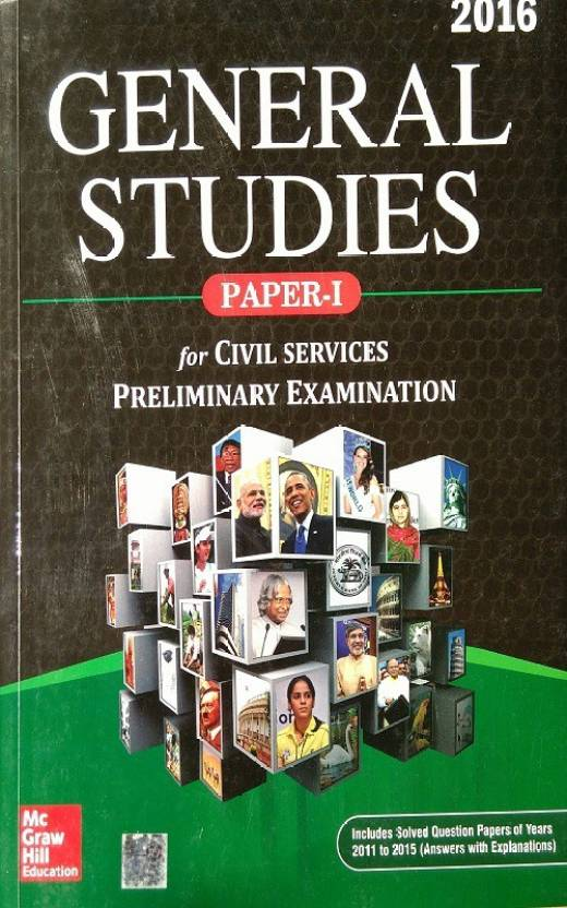 General Studies Paper 1 For Civil Services Preliminary Examination