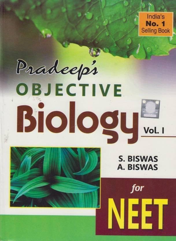 Pradeep's Objective Biology (Set Of 2 Volumes): Buy