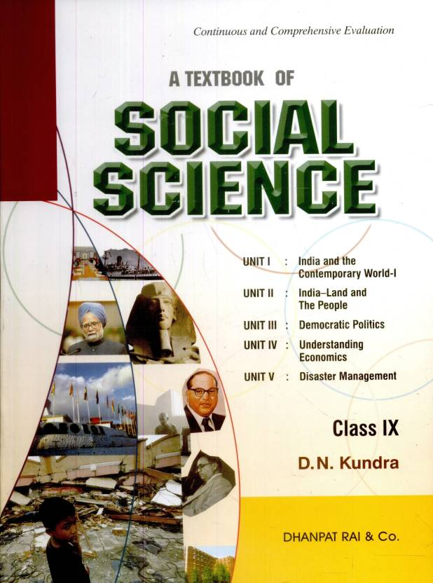 A Text book of Social Science (Class - 9): Buy A Text book of Social
