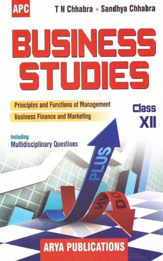 Business Studies A Textbook For Class Xii (Apc)