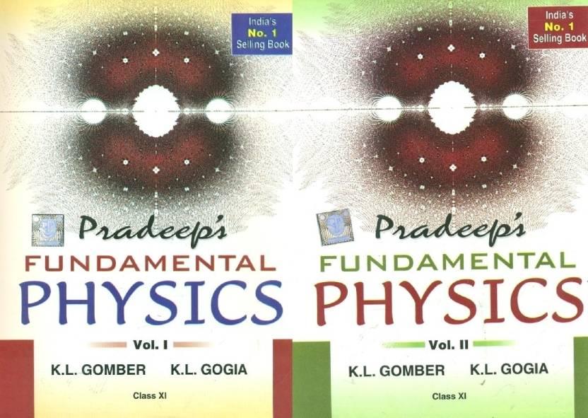 Pradeep's Fundamental Physics (Class-XI) (Set Of 2 Vols)