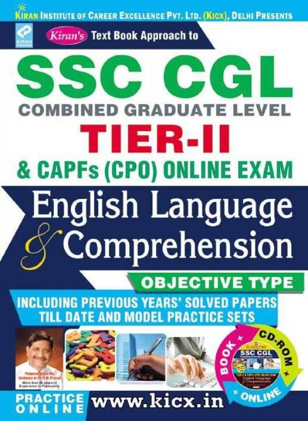 Kiran's SSC CGL Tier – II book