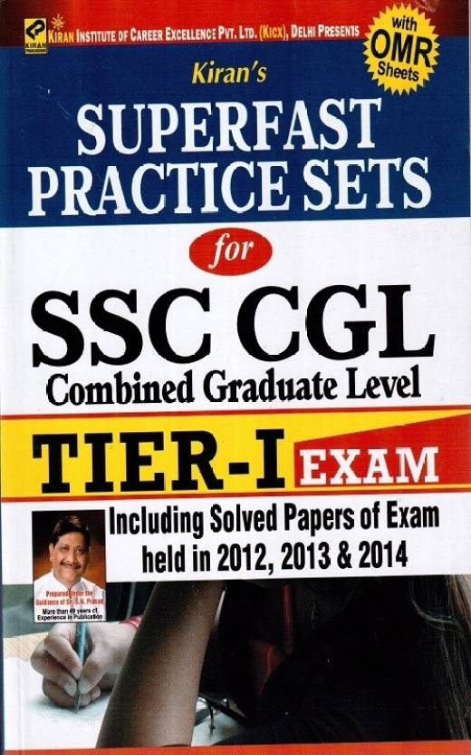 Superfast Practice Sets For Ssc Cgl Tier-I Exams Including Solved Papers
