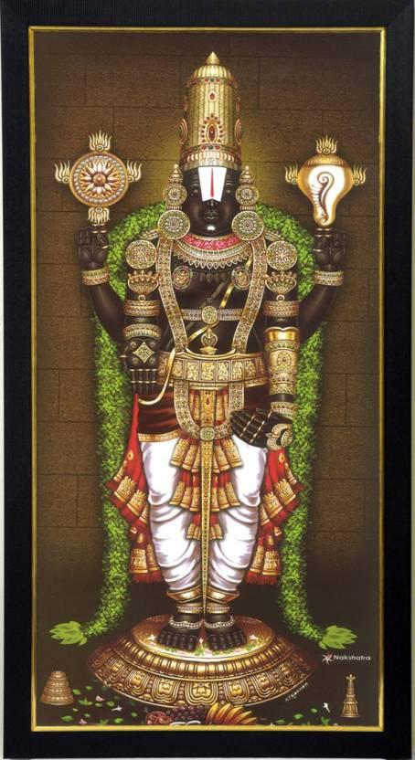 101temples Venkateswara Swamy Tulasimala God Photo