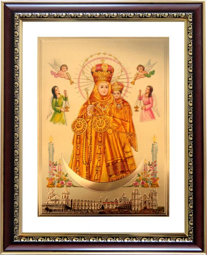 goldart vailankanni matha religious frame price in india buy