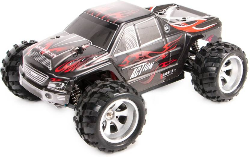 Toyzio RC Monster Truck 4WD 1:18 Scale Big Size upto 50 Kmph With Oil  Suspension
