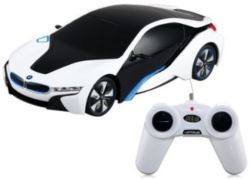 Liberty Imports BMW I8 Concept Radio Remote Control RC Sports Car 1:24  Scale Model