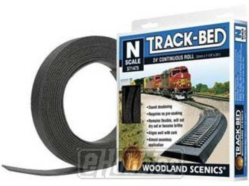 Woodland Scenics N Scale Track-Bed Roll - N Scale Track-Bed