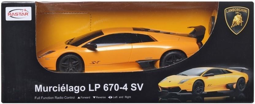 Rastar Lamborghini Murcielago LP 670 4 SV Remote Control Toy