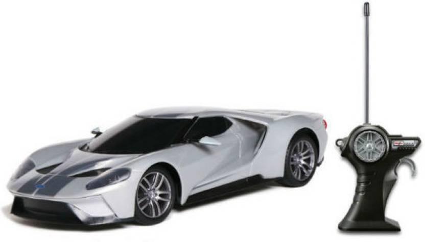 Maisto Ford Gt   Grey Remote Control Car Grey