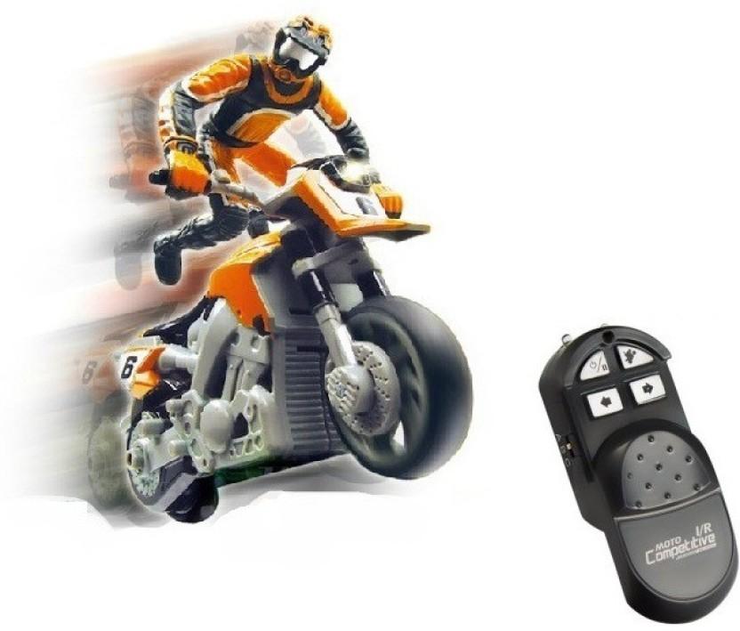 Toys Bhoomi RC Mini Stunt MotorBike   Extreme Stunts
