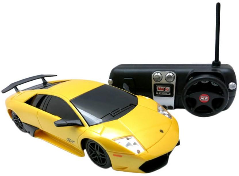 Maisto MT 81065 YELLOW Lamborghini Murcielago LP 670 4 SV