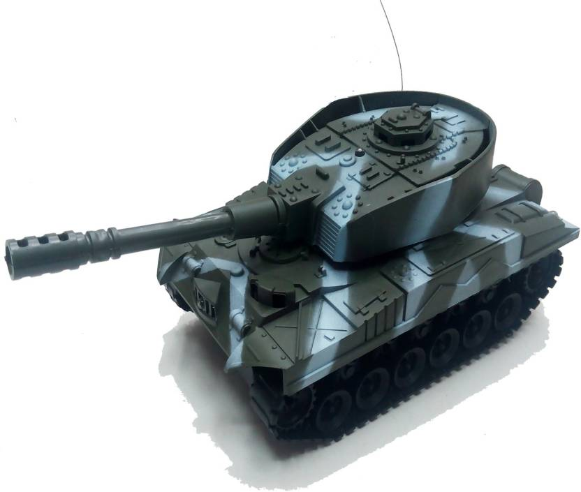 Gift World Radio Remote Control Tank RC Battle Tank Battery Operated
