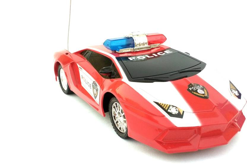 Akki Collection police car in red