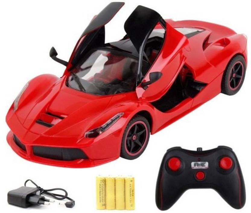 40-80% Off on Toys for Kids Cars, Trains, Scooters & more By Flipkart | FUSEMETAL SUPER CAR FERRARI  (Red) @ Rs.699
