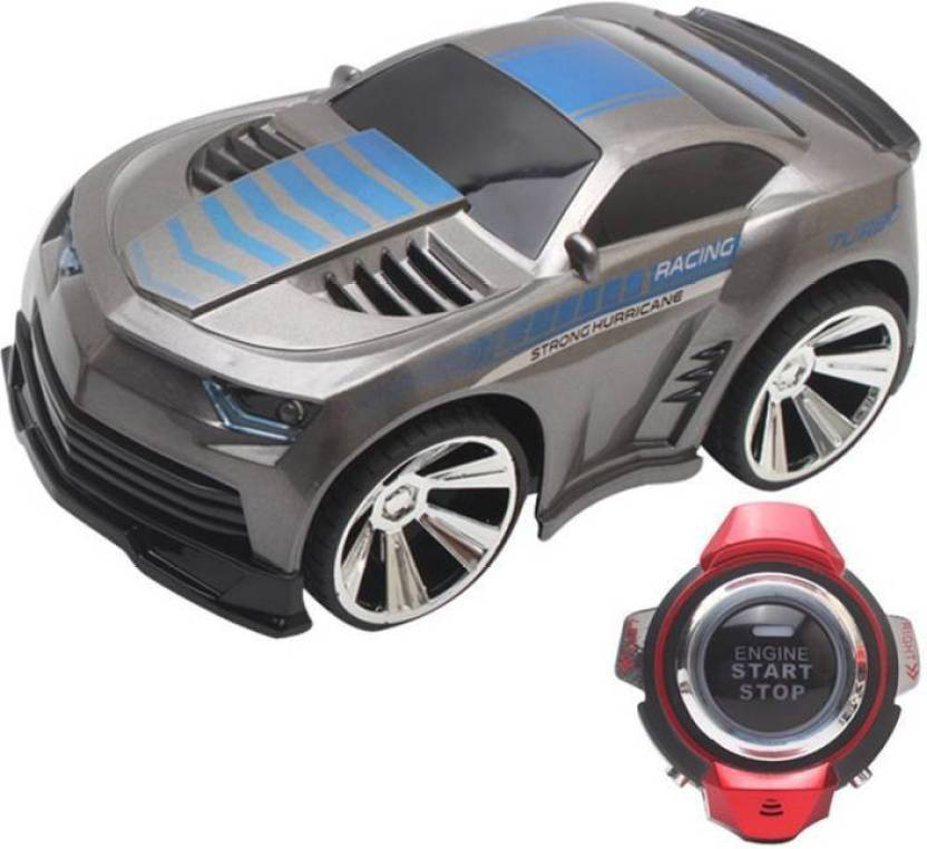21ba941fdd8 PATHE Remote Control Car Voice Controlled Smart Car with 8 Voice Commands  Smart Watch (Gray) (GRAY) (GREY COLOUR)